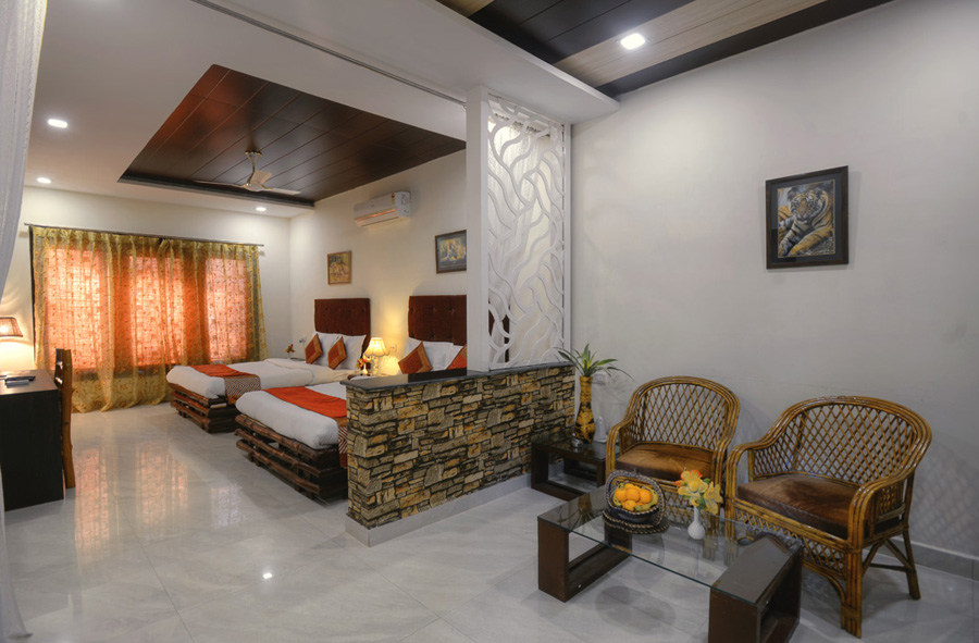 Nature Heritage Resort in Bandhavgarh