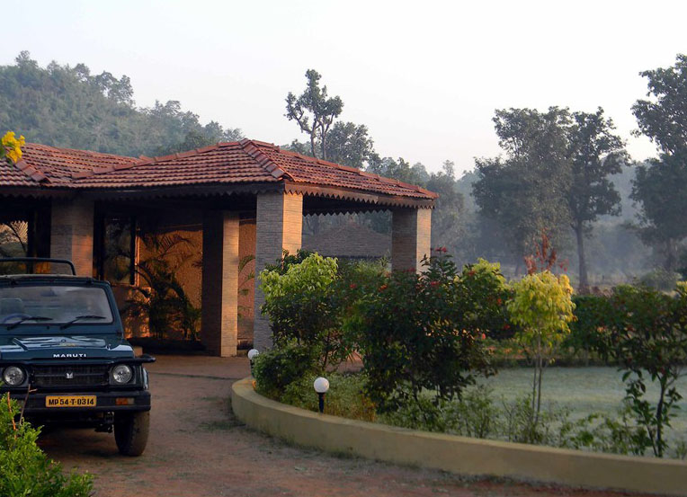 Wild Flower Resort in Bandhavgarh