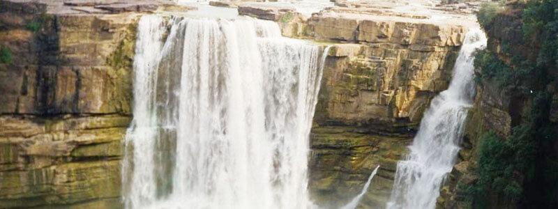 Purwa Waterfall in rewa