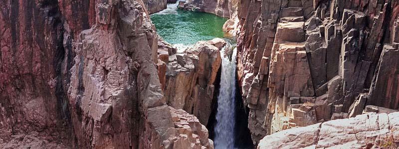 Raneh Waterfall in Khajuraho