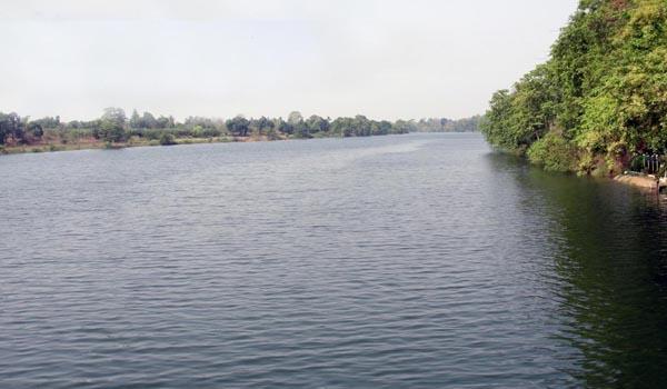 Mahanadi River in Madhya Pradesh