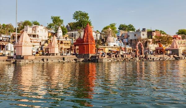 Shipra River in Madhya Pradesh